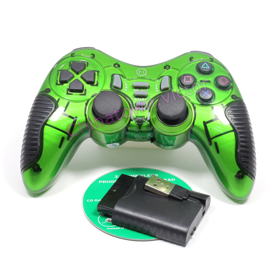 Wireless Game Console Controller Dual Vibration For Sony