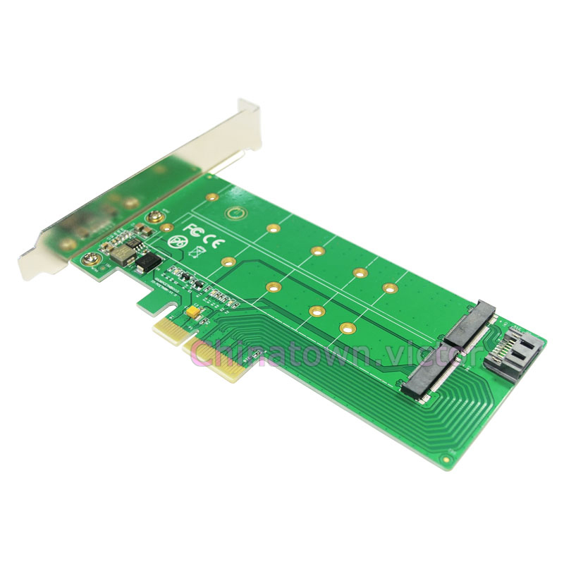 M 2 Pcie Adapter Pakistan Adapter Nikon To Sony E Mount Wifi Adapter Gone From Laptop Adapter Adapter Meaning: NGFF (M.2) SSD To PCI-e Express 4x & SATA Converter
